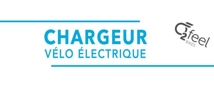 Chargeur vélo électrique O2 Feel