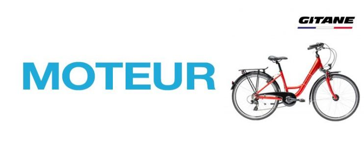 Moteur vélo électrique Gitane