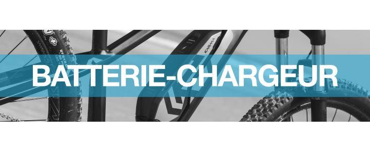 Batteries et chargeurs vélo électrique
