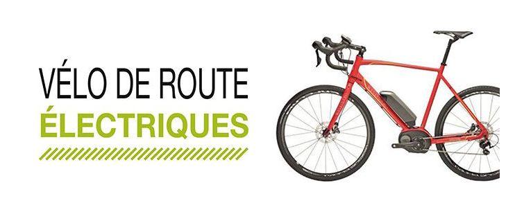 Vélo route électrique