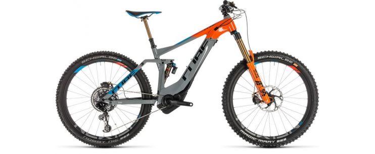 Vélo électrique Cube Stereo Hybrid 160