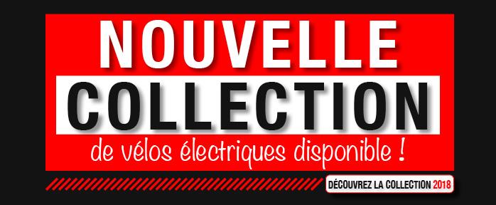Nouvelle collection de vélos électriques disponible