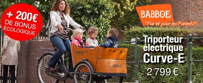 Babboe vélo électrique