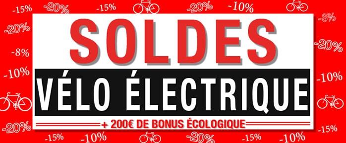 Soldes vélo électrique