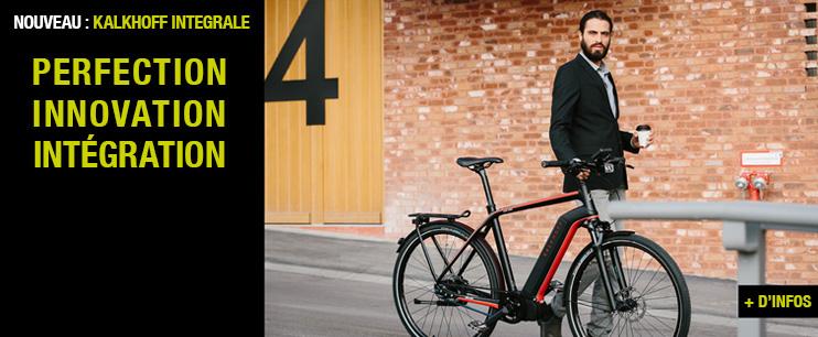 Vélo électrique KALKHOFF INTEGRALE : les nouveaux VAE urbains 2016