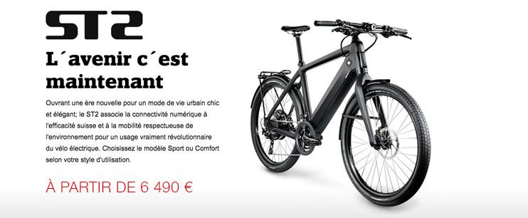 STROMER ST2 : le meilleur du vélo électrique 45 kmh, le plus connecté des vélos électriques puissants, le speedbike suisse haut de gamme, l'élégance urbaine… What else?